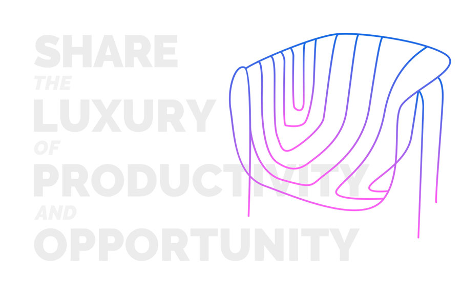 share - luxury - productivity - opportunity